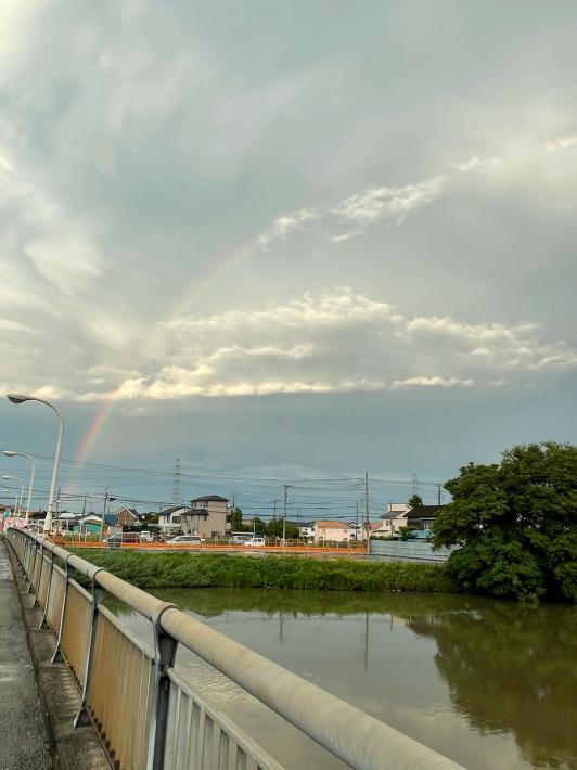 大きな虹が!_f0296312_20452061.jpg