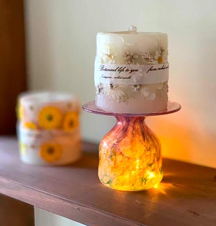 特別教室【ボタニカルアロマキャンドルWS orchid.candle】が開催されました_a0017350_19031375.jpg