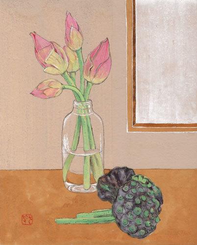 「蓮の花束」3F_f0189164_09464760.jpg