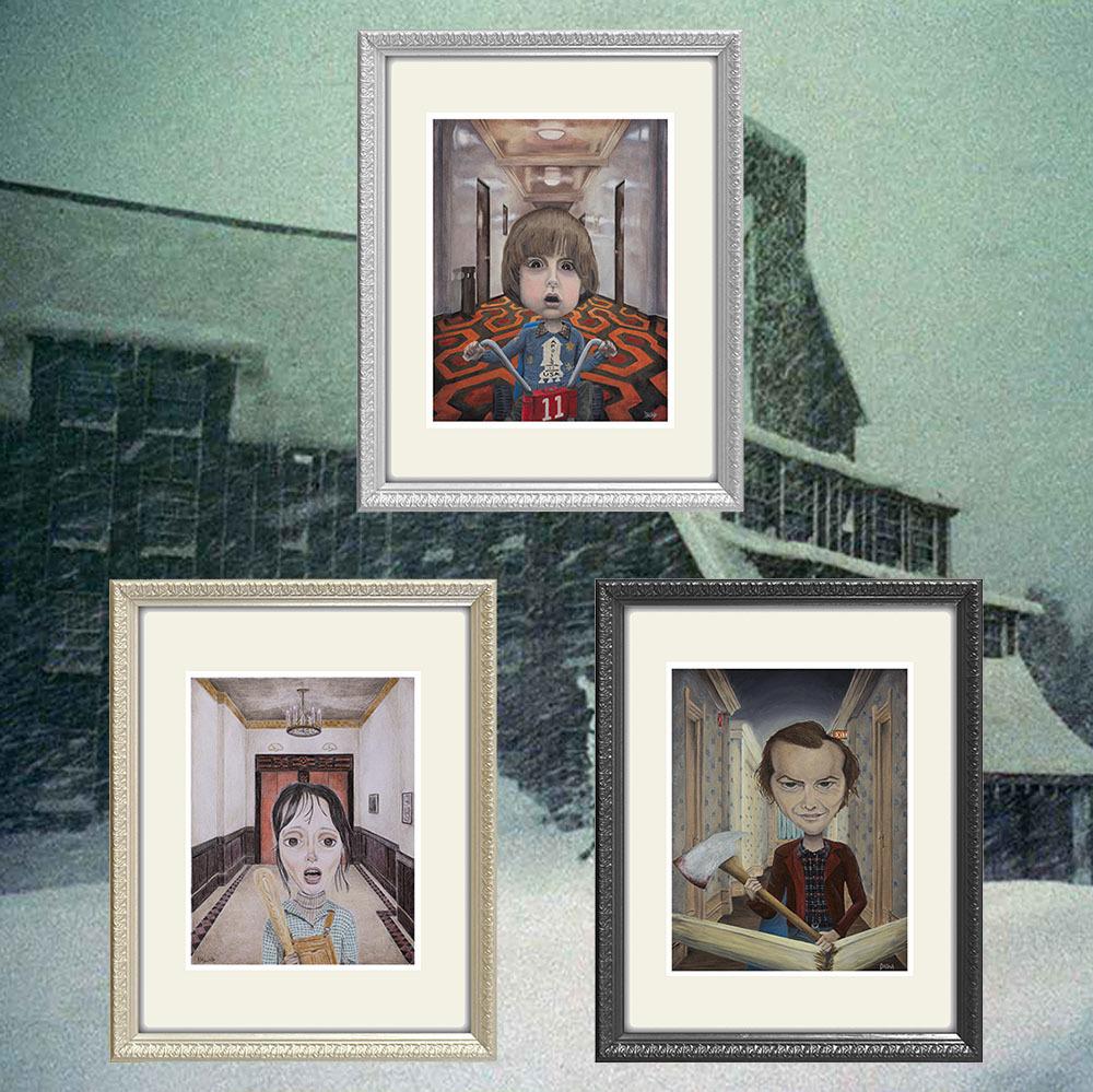 ダリーナの『シャイニング』ジークレー版画3点セット、発売中_a0077842_19080538.jpg