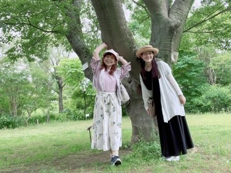 山野さと子さんと京成バラ園と富岡八幡宮_a0087471_13221333.jpeg