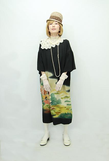 モードでいこう☆日本の着物ドレス_b0098077_18194791.jpg