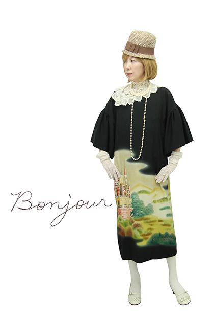 モードでいこう☆日本の着物ドレス_b0098077_18200245.jpg