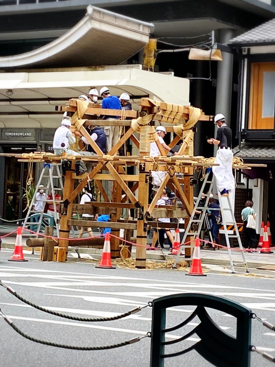 今年も祇園祭は中止ですが、ニコリニコリーは出店しておりますよー❗️_a0129631_10134099.jpg