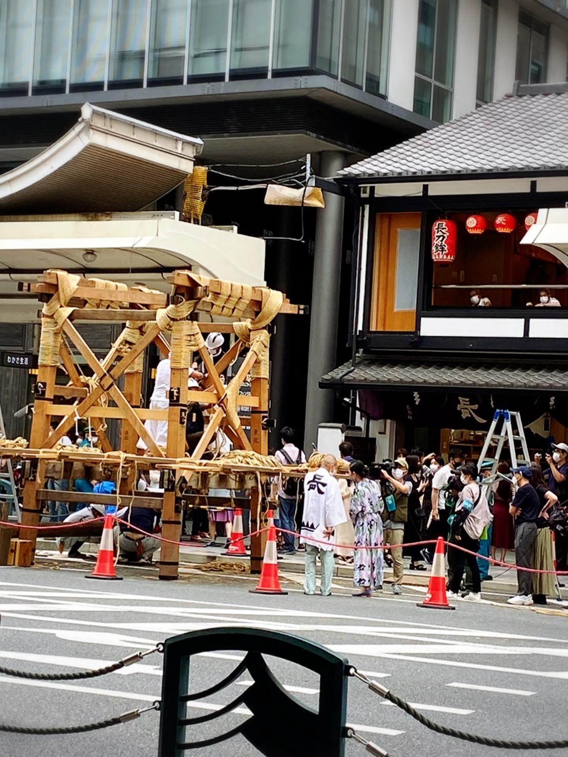 今年も祇園祭は中止ですが、ニコリニコリーは出店しておりますよー❗️_a0129631_10134127.jpg