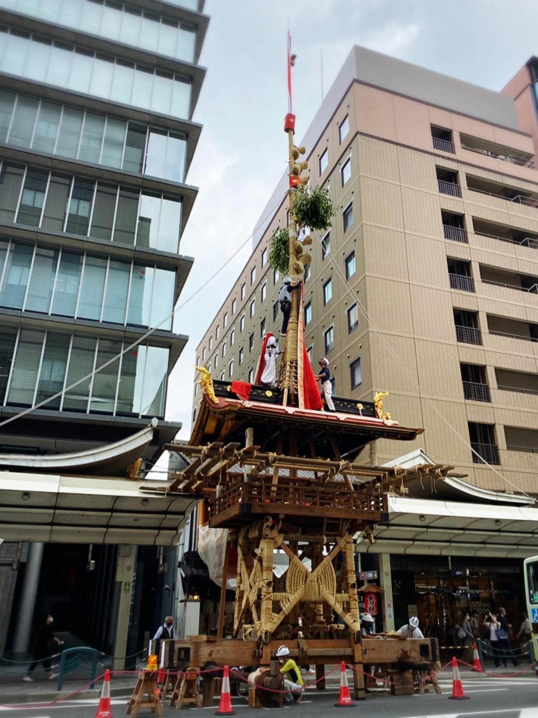 今年も祇園祭は中止ですが、ニコリニコリーは出店しておりますよー❗️_a0129631_10134138.jpg
