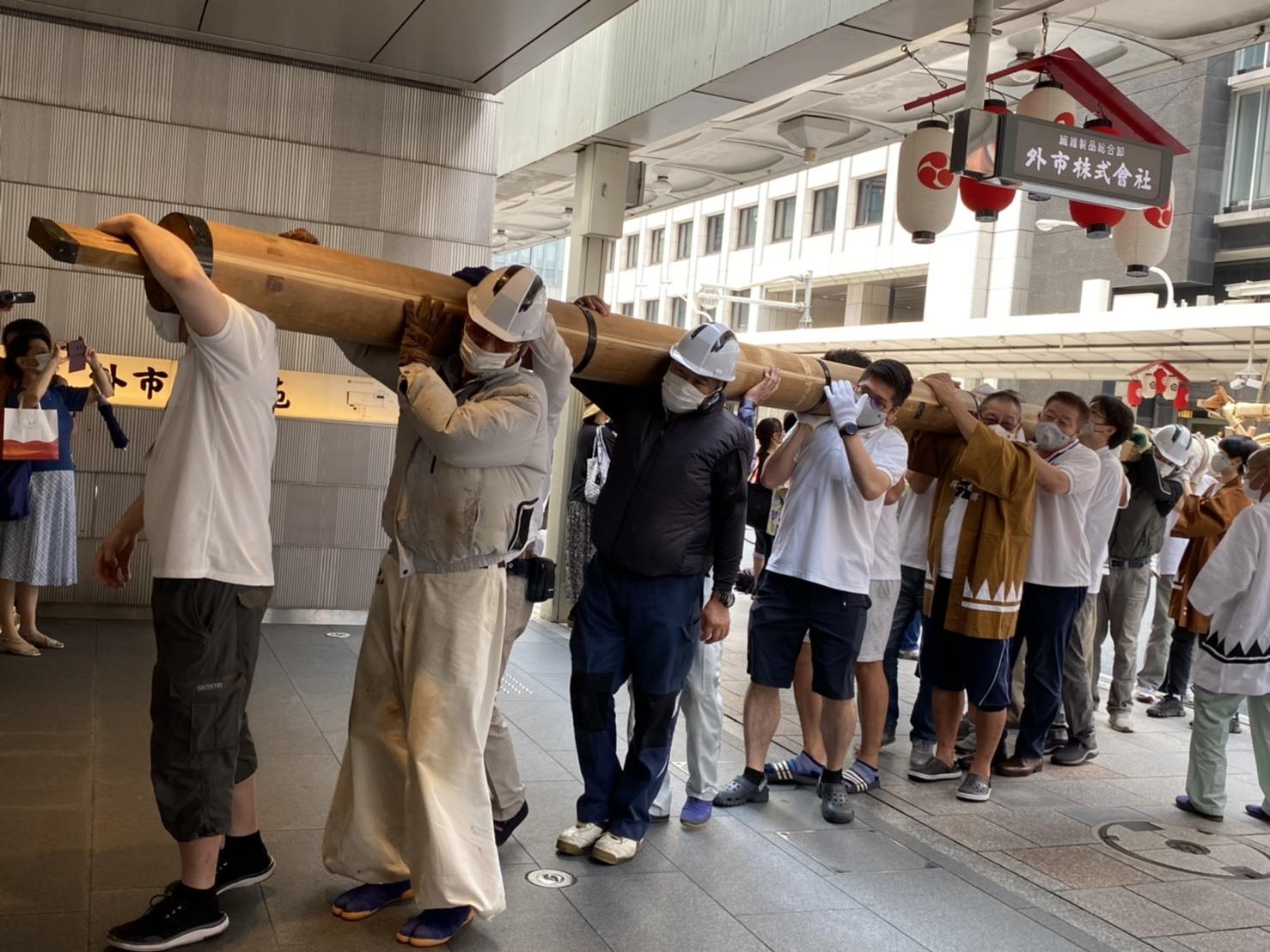今年も祇園祭は中止ですが、ニコリニコリーは出店しておりますよー❗️_a0129631_10134184.jpg