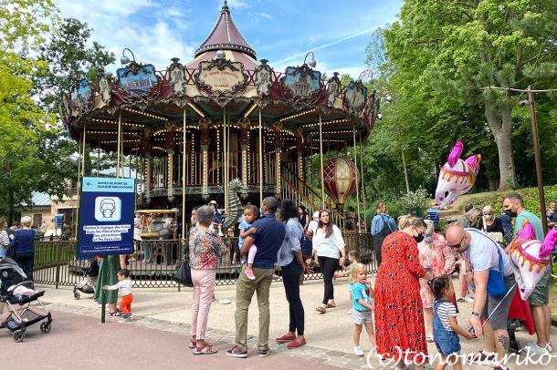 ワクチン必須の方向のフランスの夏休み。プチモンスターと遊園地へ_c0024345_19465680.jpg