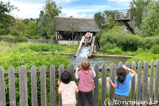 ワクチン必須の方向のフランスの夏休み。プチモンスターと遊園地へ_c0024345_19465723.jpg