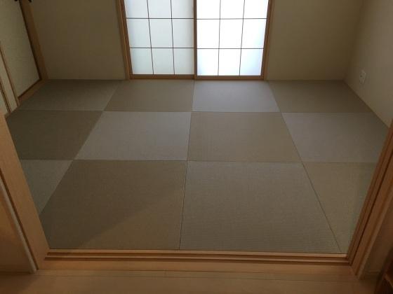 【千葉花見川区】44%off琉球畳の格安セール施工例と日記_b0142750_10580182.jpeg