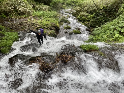 室蘭岳(鷲別岳) 沢登り 滝沢コース~裏沢~川又温泉_d0198793_15252565.jpeg