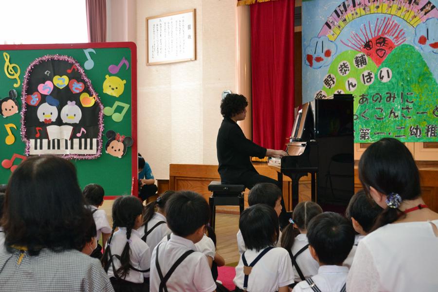 宮野恭輔ピアノミニコンサート in 上宮学園_d0353789_16344903.jpg