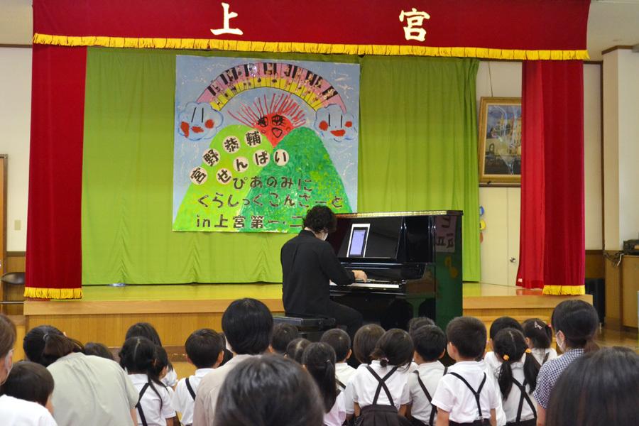 宮野恭輔ピアノミニコンサート in 上宮学園_d0353789_16362244.jpg