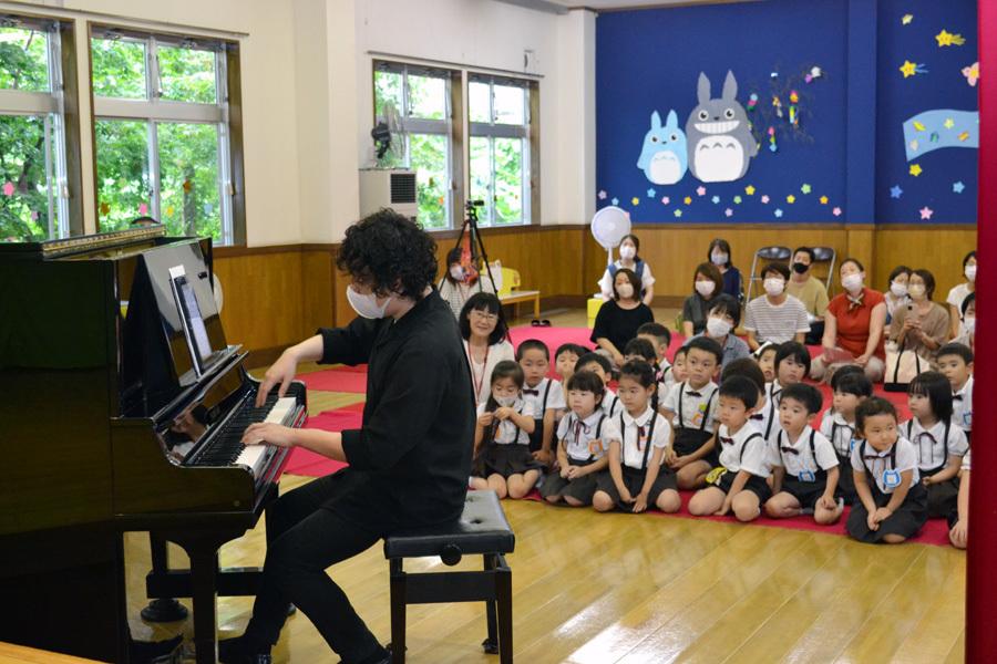 宮野恭輔ピアノミニコンサート in 上宮学園_d0353789_16363672.jpg