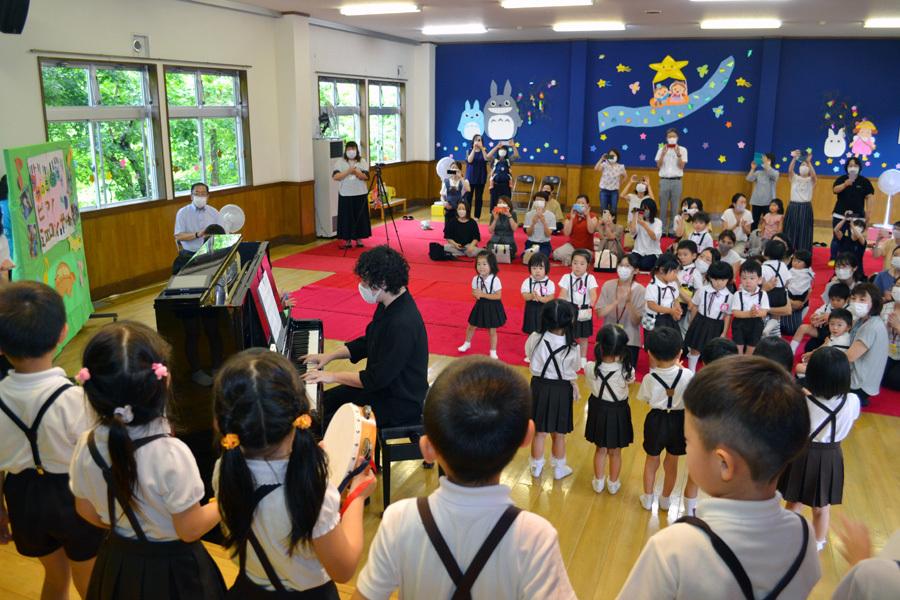 宮野恭輔ピアノミニコンサート in 上宮学園_d0353789_16370486.jpg