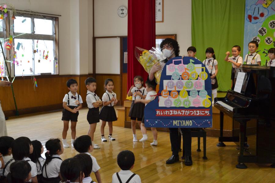 宮野恭輔ピアノミニコンサート in 上宮学園_d0353789_16372218.jpg