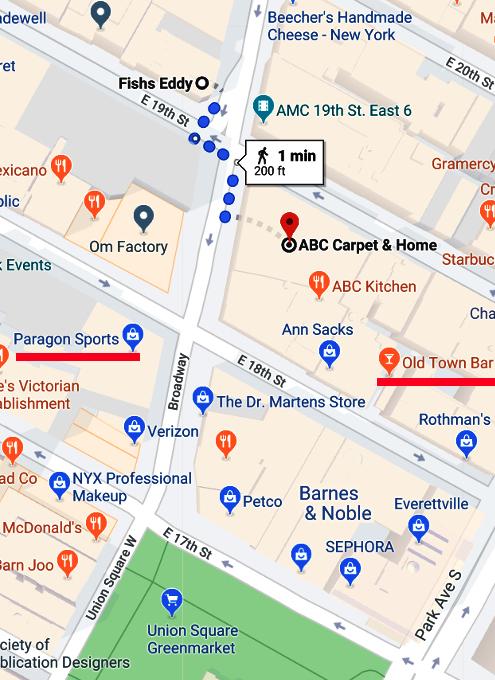 動画版「Union Sq.北側エリアで、ニューヨークの老舗の名店めぐり」_b0007805_21564805.jpg