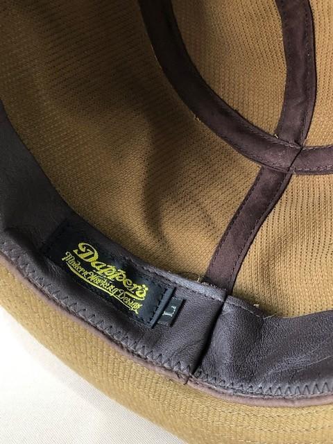 7月15日(木)入荷!Dapper\'s Curled Brim Classic Hat LOT1497!_c0144020_13201365.jpeg