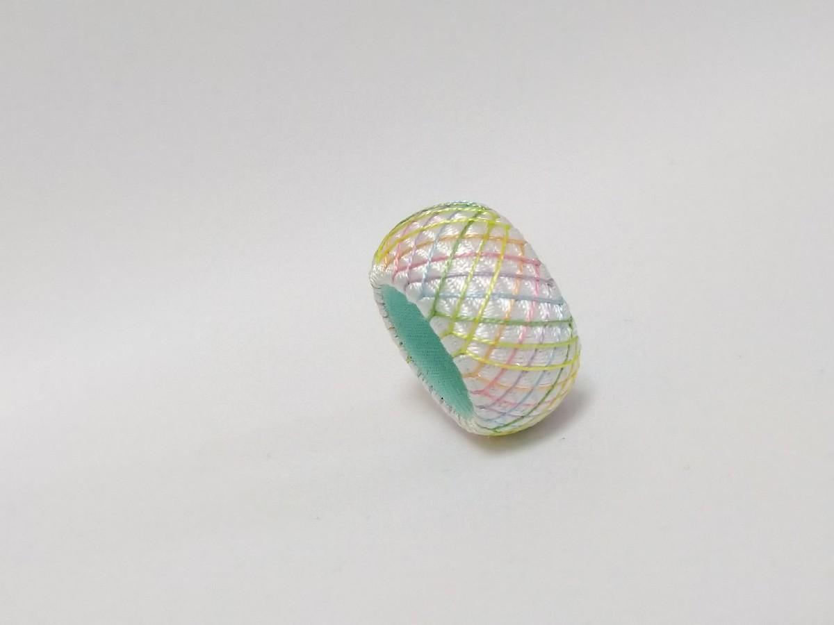 七色うろこ模様&卵のプリン_e0365536_07470557.jpg