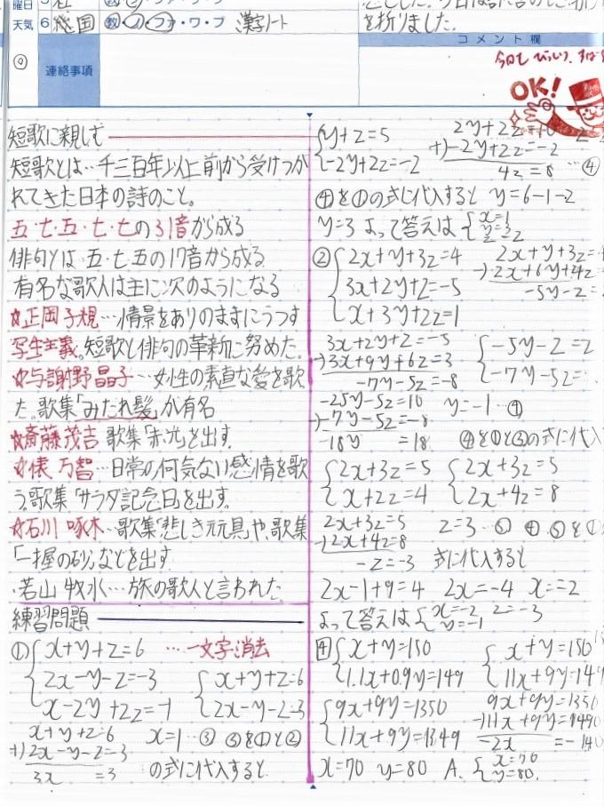 自学ノート(宿題)の使いかた #217号(2021年7月)_d0347964_17235851.jpg