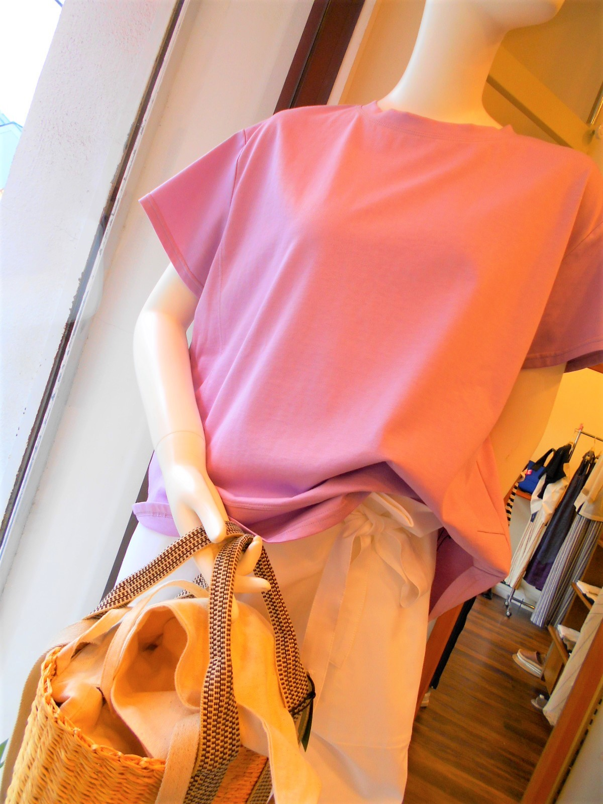 スモーキーピンクのTシャツ・・・☆_c0113499_17134432.jpg