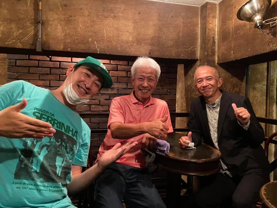 ◤♬LIVE出演レポート◢ 番組でご一緒させていただいた吉田和雄さんと率いるTóquio Bossa Trio_b0032617_13574814.jpg