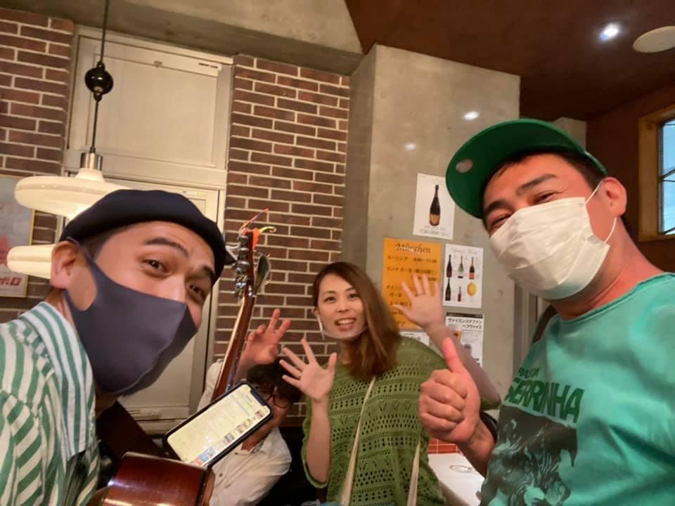 ◤♬LIVE出演レポート◢ 番組でご一緒させていただいた吉田和雄さんと率いるTóquio Bossa Trio_b0032617_13574861.jpg