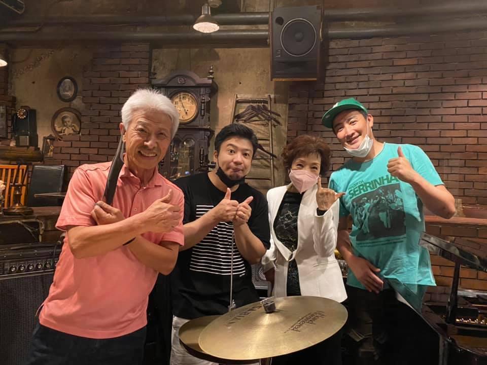◤♬LIVE出演レポート◢ 番組でご一緒させていただいた吉田和雄さんと率いるTóquio Bossa Trio_b0032617_13574870.jpg