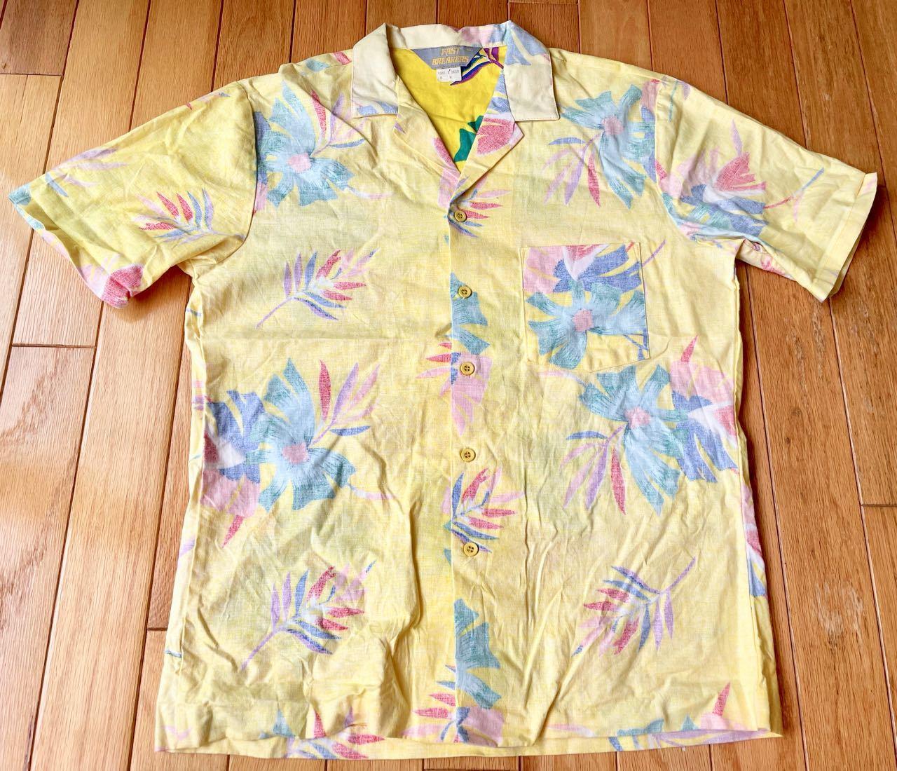 7月17日(土)入荷!80s MADE IN U.S.A Fastbreakers  Hawaiian ハワイアンシャツ!_c0144020_13090611.jpg