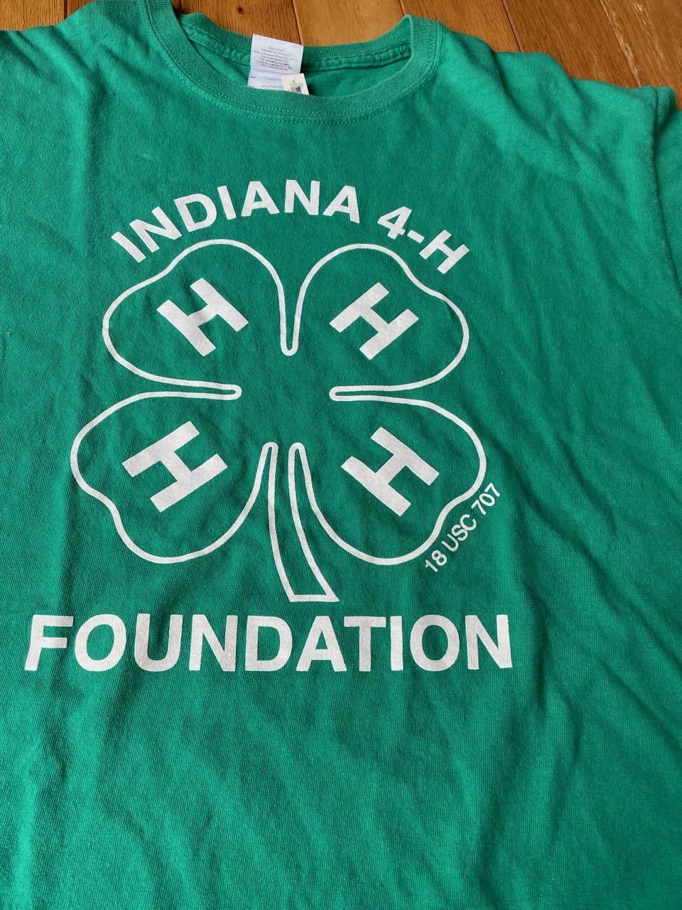 7月17日(土)入荷!00s〜INDIANA 4H FUNDATION Tシャツ!_c0144020_13174203.jpg