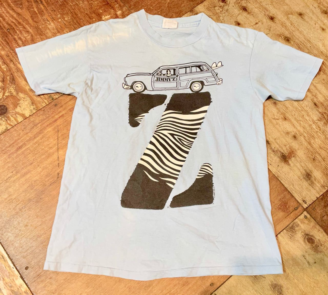 7月17日(土)入荷!80s~MADE IN U.S.A JIMMY\'Z  Tシャツ!_c0144020_13193669.jpg