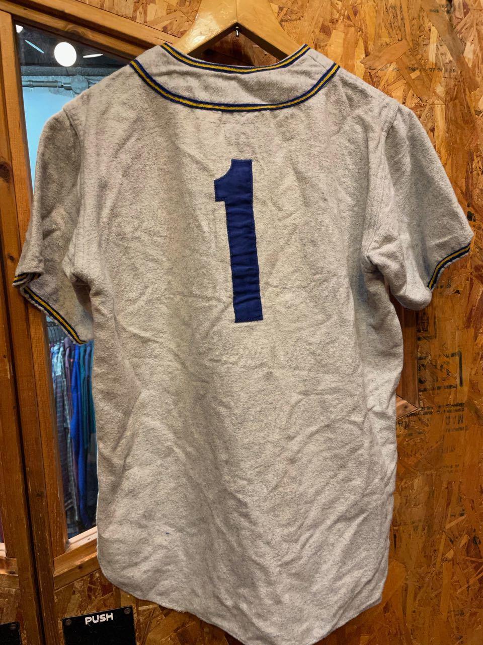 7月17日(土)入荷!50s〜マチ付き BASEBALL shirts! /ベースボールシャツ!_c0144020_14402442.jpg