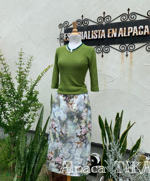 T\'IKAの夏ふくより「大人の麻のスカート」・布のお洋服が一部商品SALEです_d0187468_15541452.jpg