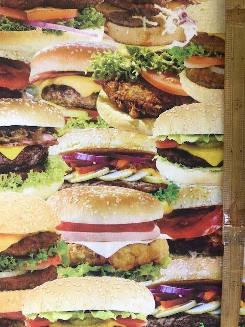 布「ハンバーガー」リアルプリント_d0156706_14574523.jpg