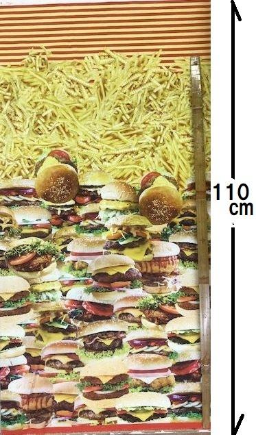 布「ハンバーガー」リアルプリント_d0156706_14574546.jpg