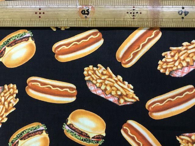 布「ハンバーガー」リアルプリント_d0156706_15085912.jpg