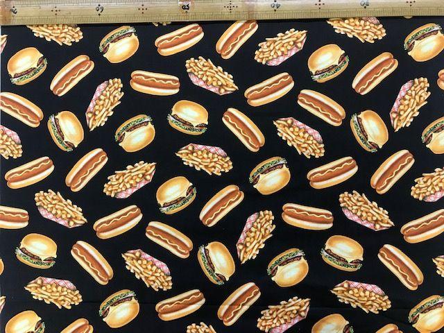布「ハンバーガー」リアルプリント_d0156706_15085930.jpg