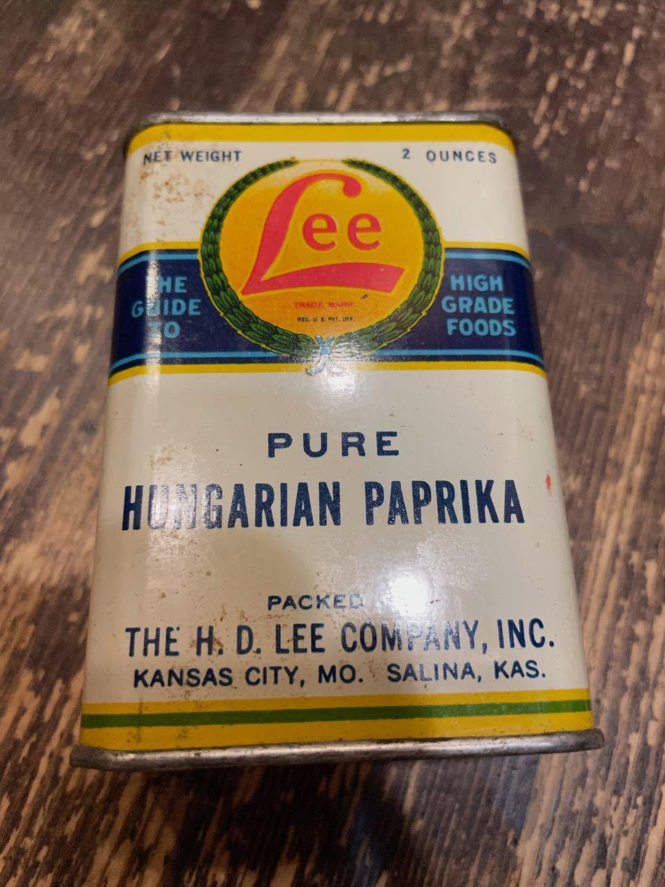 7月18日(日)入荷!Lee Mercantile TIN CAN ! H.D Lee Company !_c0144020_18015718.jpg