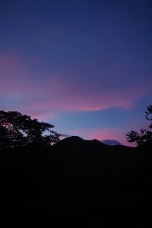 梅雨明け、夕焼け、蝉時雨_f0114346_06420475.jpg