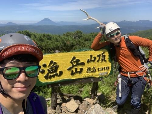 漁岳に沢登り→支笏湖SUP 水遊び大満喫な1日_d0198793_16233810.jpeg