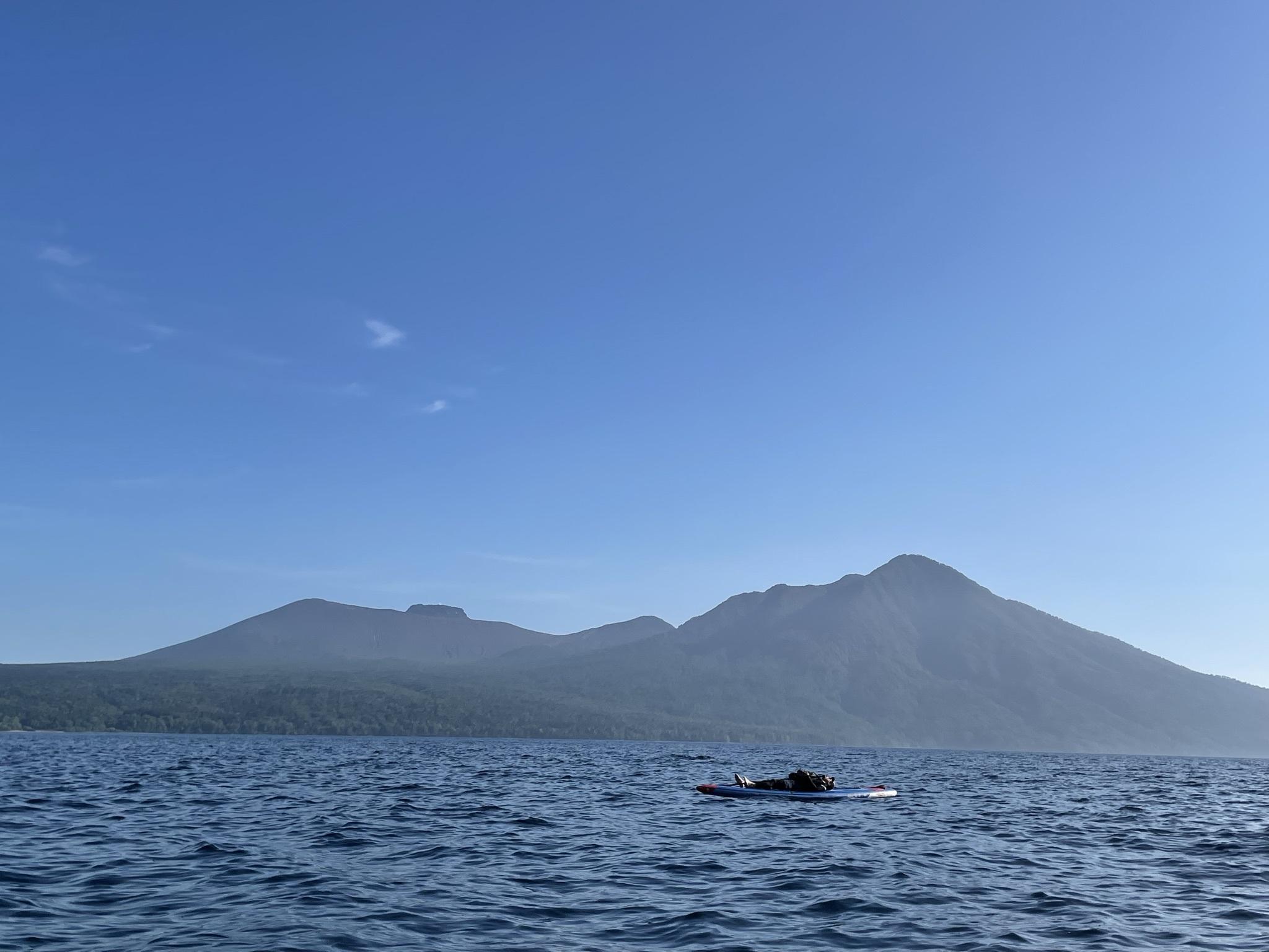 漁岳に沢登り→支笏湖SUP 水遊び大満喫な1日_d0198793_16253012.jpeg