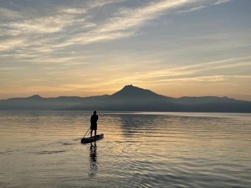 漁岳に沢登り→支笏湖SUP 水遊び大満喫な1日_d0198793_16255806.jpeg