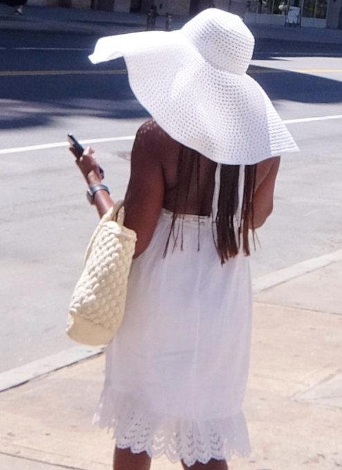 ニューヨークの街角で見かけた、いかにも夏らしいファッション_b0007805_19535800.jpg