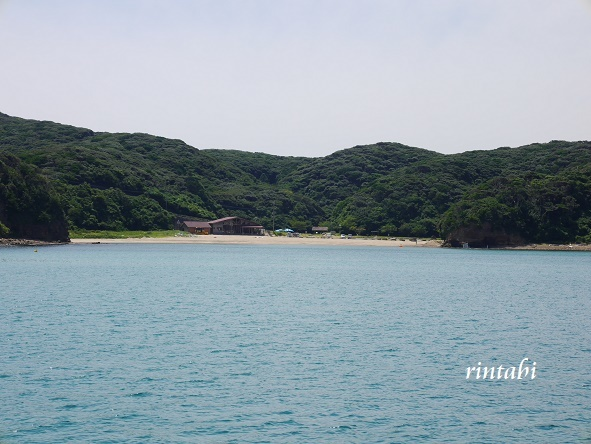 2021年7月 壱岐3 エメラルドグリーンに輝く壱岐ブルー♪辰の島クルーズ_b0205305_15582999.jpg