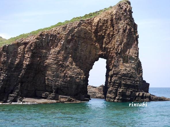 2021年7月 壱岐3 エメラルドグリーンに輝く壱岐ブルー♪辰の島クルーズ_b0205305_16002406.jpg