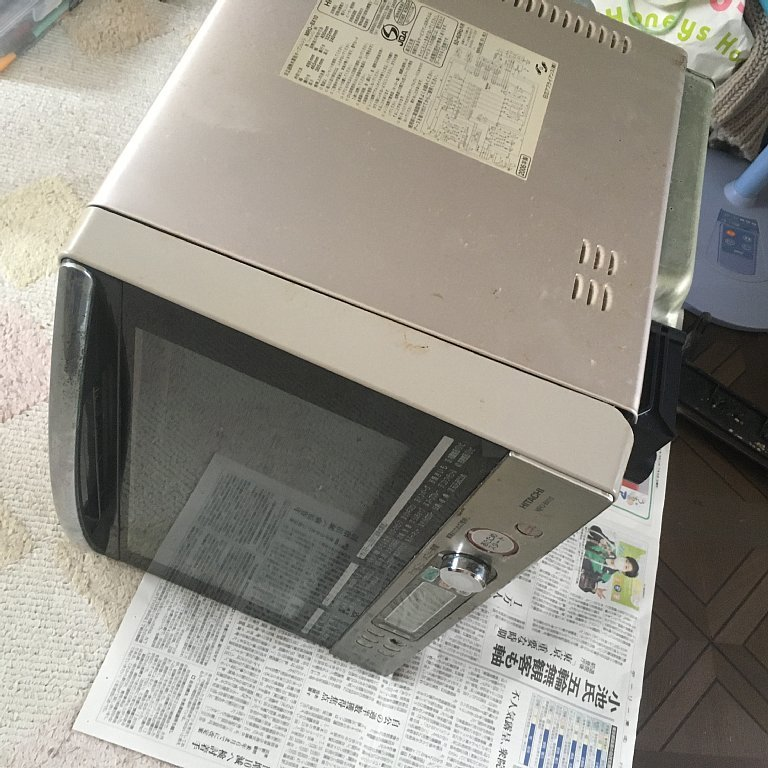 電子レンジ(オーブンレンジ)日立 MRO-BX10の修理_e0150614_17310578.jpg