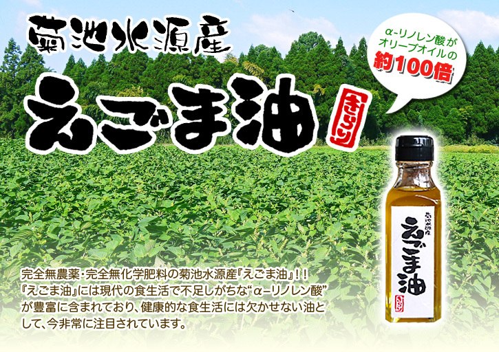 熊も県菊池水源産の無農薬栽培の『えごま油』数量限定で販売中!令和3年度の栽培の様子も紹介!_a0254656_18565604.jpg