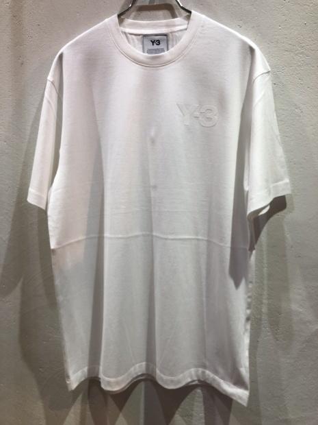 「Y-3 ワイスリー」新作ロゴCAPとロゴTシャツ入荷です。_c0204280_11480358.jpg