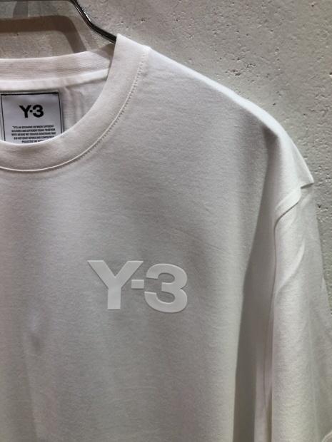 「Y-3 ワイスリー」新作ロゴCAPとロゴTシャツ入荷です。_c0204280_11480371.jpg