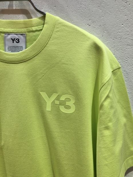 「Y-3 ワイスリー」新作ロゴCAPとロゴTシャツ入荷です。_c0204280_11481218.jpg